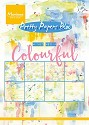 Marianne Design - Pretty Papers Bloc - Mixed Media Colourful