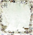 PRE-ORDER 1 - Studio Light - Frozen Forest - Scrappapier SCRAPFF01