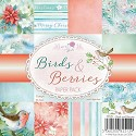 Paperpad Wild Rose Studio`s - Birds & Berries