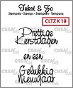Clearstamp - Crealies - Tekst & Zo - Divers 19 Kerst