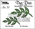 Stansmal - Crealies Duo Dies no. 37 blaadjes 5