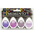 Stempelinkt - Memento - Dewdrop - Set 4pak Juicy Purples