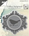 Joy! Crafts - Cutting & Embossing stencil - Endless Background with bird