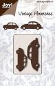 Noor! Design - Vintage Flourishes - Fiat en VW Beetle