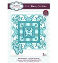Stansmal - Creative Expressions - The Background Collection - Butterfly Frame
