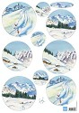 Knipvel Marianne Design - Tiny`s Snow Mountains