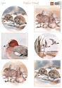 PRE-ORDER 1 - Knipvel Marianne Design - Mattie`s winter animals - Hedgehogs