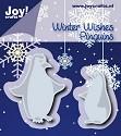 Noor! Design - Winter Wishes - Penguins