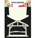 PRE-ORDER 8 - Dutch Doobadoo - Dutch Card Art - Kerststal