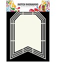 PRE-ORDER 8 - Dutch Doobadoo - Dutch Shape Art - Flag