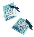 Sizzix - Thinlits Die Set - Tri-fold Card Snowflake