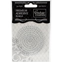 Couture Creations - Premium Adhesive Pearls 3mm / 206 stuks - Stunning Silver