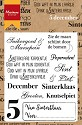 Marianne Design - Clearstamp - Vijf december