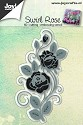 Joy! Crafts - Cutting & Embossing stencil - Swirl Rose