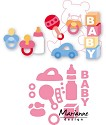 Marianne Design - Collectable Eline`s Baby essentials
