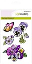 Clearstamp CraftEmotions - Sweet Violets - Violen 1