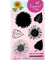 Studio Light - Clearstamp Layered Stamps - Flower nr 16