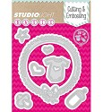 PRE-ORDER 6 - Studio Light - Basics - Cutting & Embossing stencil - STENCILSL27