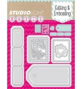 Studio Light - Basics - Cutting & Embossing stencil - STENCILSL26