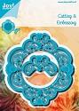 Noor! Design - Blauwe mal - Ornament sierlijk