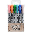 Tim Holtz - Distress Crayons - Set #6