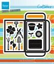 Marianne Design - Craftable - Seed Pocket & Garden Tools