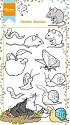 Marianne Design - Clearstamp - Garden Animals