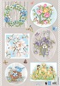 Marianne Design - Knipvel Els Weezenbeek - Country Flowers 1