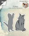 Joy! Crafts - Cutting & Embossing stencil - Kittens (2 st)