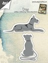 Joy! Crafts - Cutting & Embossing stencil - Dogs (2 st)