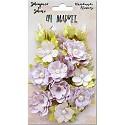 Handmade flowers 49 Market - Shimmer & Shine - Lilac Melange