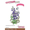 CottageCutz Stamp & Die Set - Larkspur