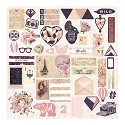 Prima Marketing - Wild & Free - Cardstock Die Cuts Ephemera