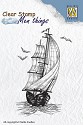 Nellie Snellen - Clearstamp Men Things - Sailing Boat