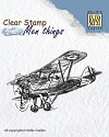 Nellie Snellen - Clearstamp Men Things - Aeroplane