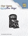 Nellie Snellen - Clearstamp Men Things - Camera