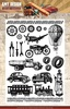 Clearstamp - Amy Design - Vintage Vehicles