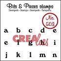 Clearstamp Crealies - Bits & Pieces - No 503 a t/m n