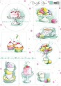 PRE-ORDER 2 - Marianne Design - Knipvel Tea for you 2