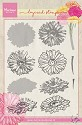 Marianne Design - Layering Clearstamp - Tiny`s Gerbera