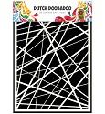 Dutch Doobadoo - Dutch Mask Art - Stripes