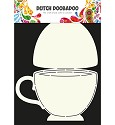 PRE-ORDER 6 - Dutch Doobadoo - Dutch Card Art - Teacup