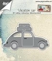 Joy! Crafts - Cutting & Embossing stencil - 3D Auto VW met koffers