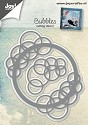 Joy! Crafts - Cutting & Embossing stencil - Bubbels Ronde rand & Hoek