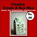 Stansmal - Crealies - Create A Box - MINI nr 6 Melkpak