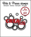 Clearstamp - Crealies - Bits & Pieces - nr 69