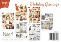 Noor! Design - Vintage plaatjes - Happy Holidays
