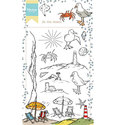 Marianne Design - Clearstamp Hetty`s At the Beach
