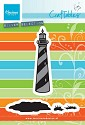 PRE-ORDER 2 (JUNI) - Marianne Design - Craftable Tiny`s Lighthouse