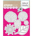 Studio Light - Basics - Cutting & Embossing stencil - STENCILSL41